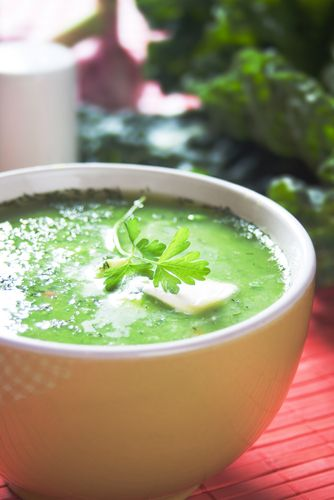 The Perfect Kale Soup for Autumn