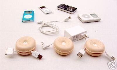 3 Cord Rollers Holder Storage Winders Cables Reels 2.5 . $3.99. Brand new set of 3 cord winders in pinkish beige  Use these cord rollers to help organizer your iPod USB cables or any other wires you have.   Control excess electrical, phone, electronic equipment, computer cords by winding extra lengths inside.   The Cord Roller pops open to wrap wire inside.  Easily bends up to wind and snaps down closed to lock cord safely inside. No more tripping over loose wires on t...