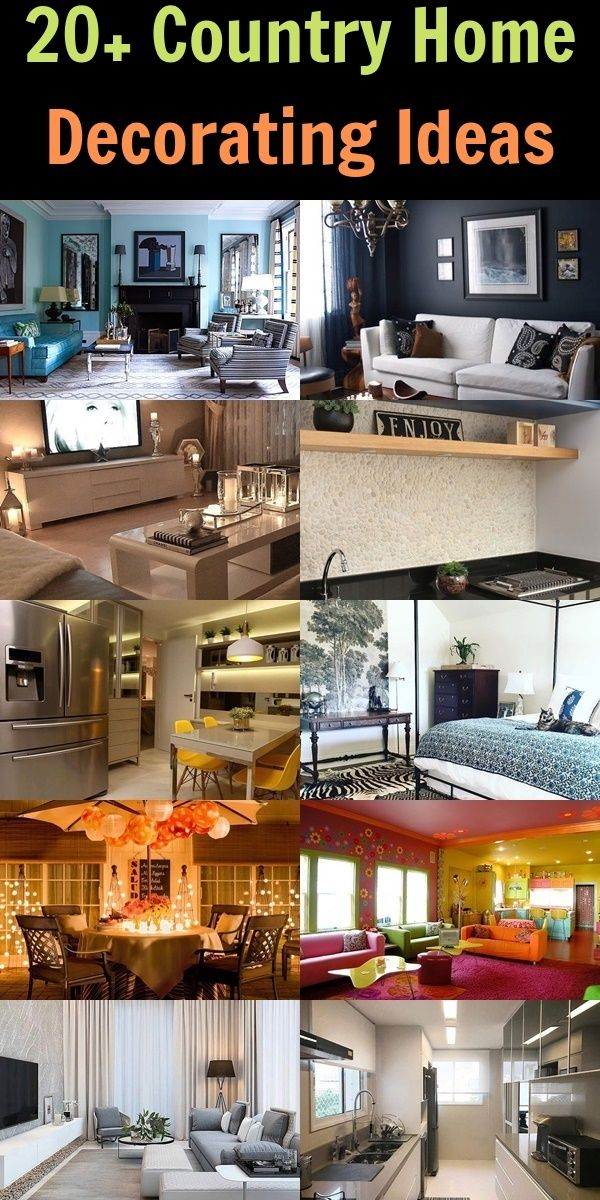 20 Country Home Decorating Ideas House Decor