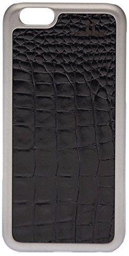 Amazon.co.jp: mabba ( マッバ ) ドイツ の リュクス クロコダイル レザー iphone6ケース 本革 Der pinke Rauber iPhone 6 Case Kroko 革 ケース ブラック アイフォン カバー iPhone6 apple6 モバイルケース 保護シート ゲット 海外 ブランド: 家電・カメラ
