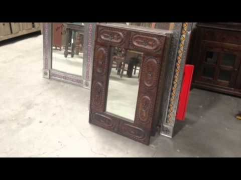 Rustic Mirrors from India, Mexico, Indonesia and China imported to San Diego Rustic Furniture outlet
