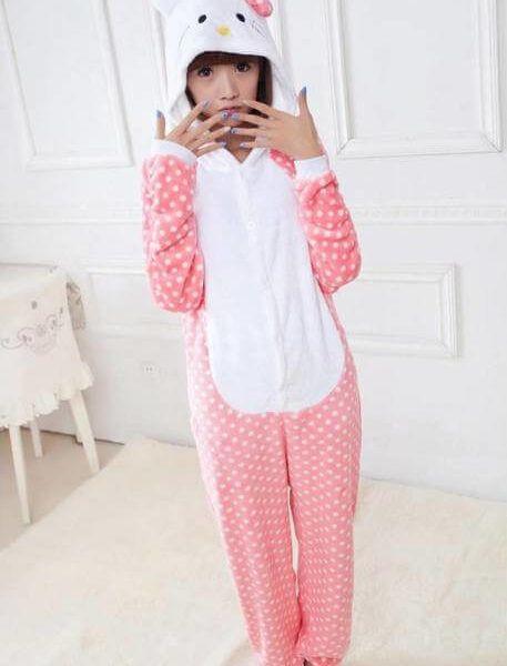 Hello Kitty Kigurumi, Cartoon #pajama | Use onesiesave10 for 10% off with free shipping