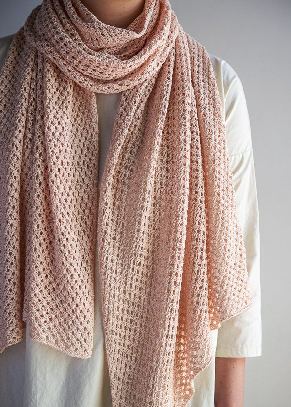 Terrace Wrap purl soho free pattern and tutorial
