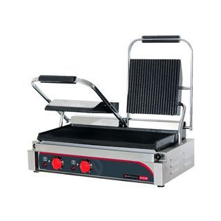 ANVIL Double Panini Press - TSS3000 - Bench top equipment - Double Contact Grill OZICATER.com.au