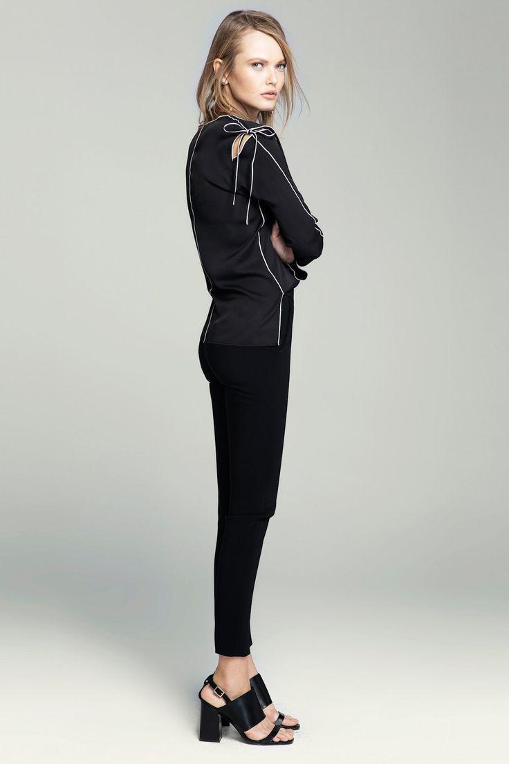 Kadın Siyah Pantolon İpekyol | Trendyol