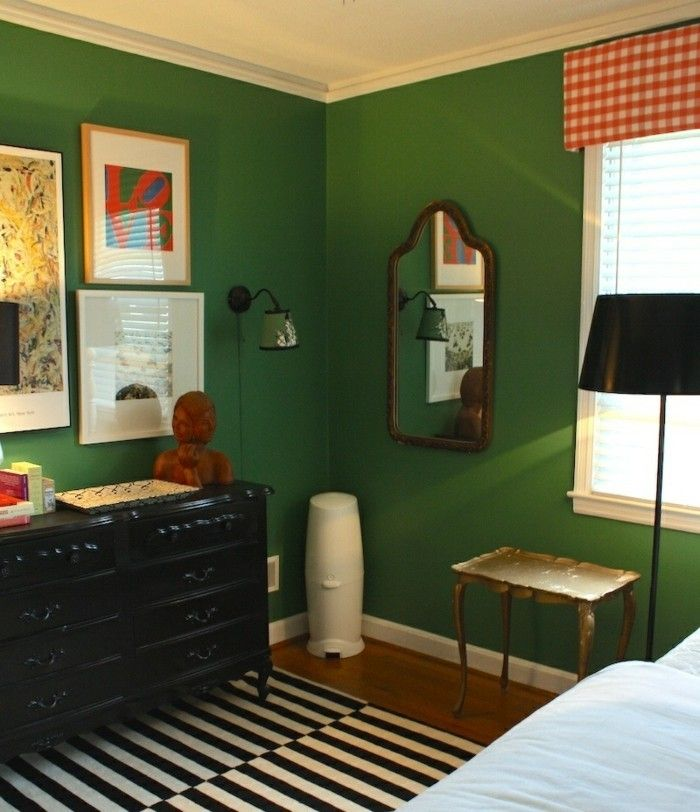 Die besten 25+ Wandfarbe grün Ideen auf Pinterest Grüne - wohnzimmer ideen grun