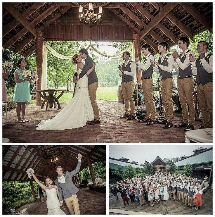 Tessa + Hadley moved their wedding indoors to the Garden Pavilion because of the rain, it all turned out quite magical.