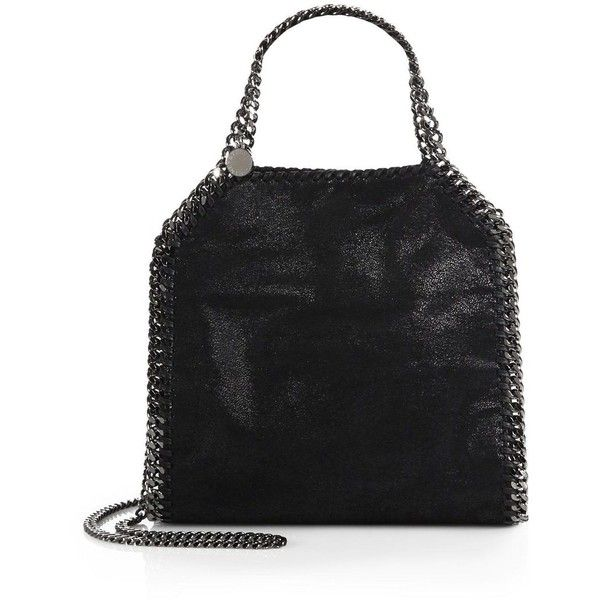Stella McCartney Mini Baby Bella Shoulder Bag (16.154.245 IDR) ❤ liked on Polyvore featuring bags, handbags, shoulder bags, apparel & accessories, miniature purse, stella mccartney, mini shoulder bag, shoulder strap bag and stella mccartney purses
