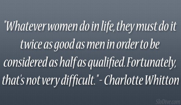 charlotte whitton quote 24 Wickedly Witty Quotes About Life