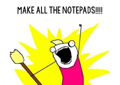 DIY Personalized Notepads: Monday Made It | Diabetes memes ...