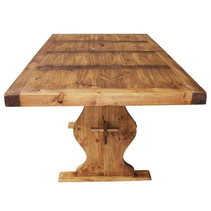 Wonderful Trestle Dining Table