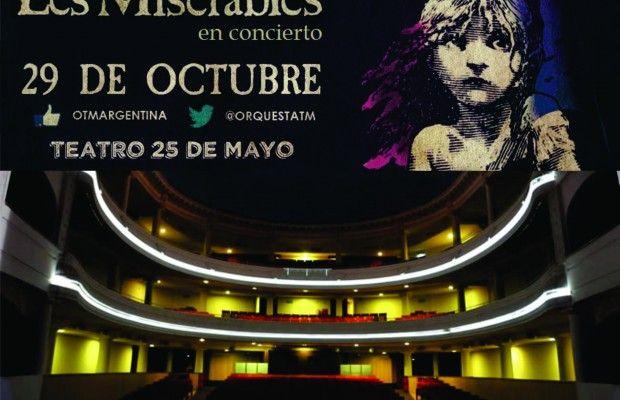 """Hoy 20.00 hs. Nueva Función de """"LOS MISERABLES"""" por la OTM en el Teatro 25 de Mayo de Villa Urquiza"""