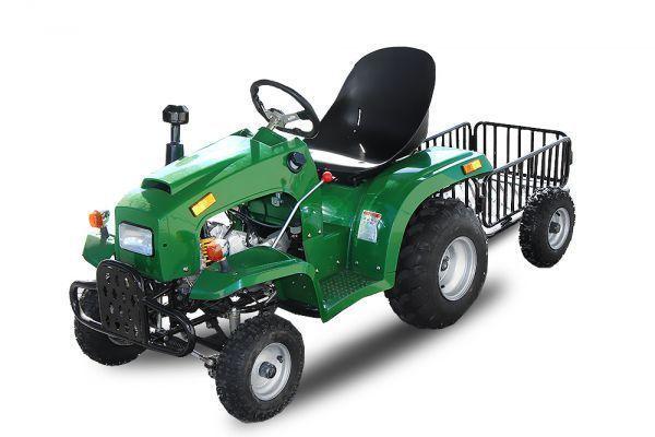110cc Kindertraktor 3-Gang Semit Automatik + RG E-Start Traktor Quad ver Farben