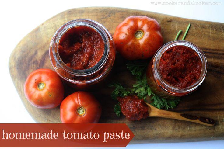 Make your own tomato paste!