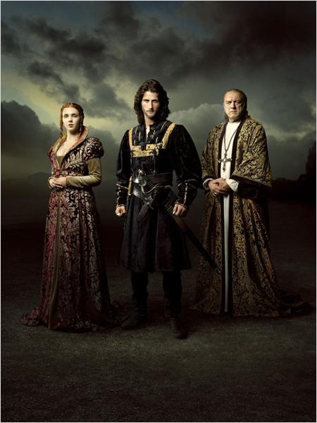 Isolda Dychauk as Lucrezia Borgia, Mark Ryder as Cesare Borgia & John Doman as Rodrigo Borgia