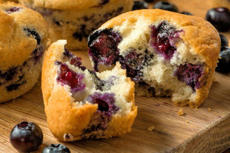 James Morton's Big Bake: Blueberry Muffins