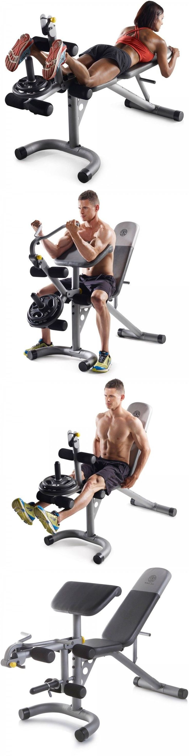 Weight Sets 179818: Weight Bench Set 300 Lb Home Olympic Gym Press Lifting Barbell Exercise All In 1 BUY IT NOW ONLY: $149.71