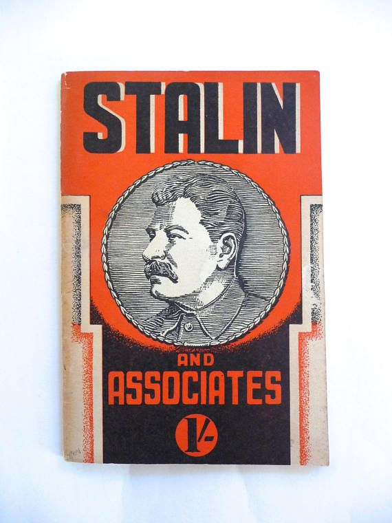 Stalin and Associates by W. J. Thomas 1941 Vintage Book