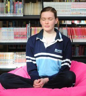Australian students using meditation to fight stress
