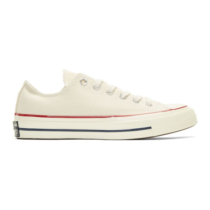 CONVERSE Off-White Chuck Taylor All-Star '70 Sneakers. #converse #shoes #