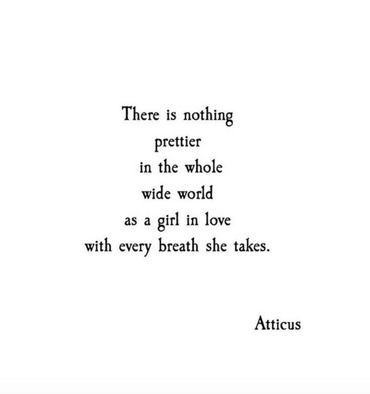 There is nothing prettier in the whole wide world as a girl in love with every breath she takes