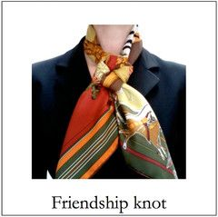 Friendship knot - Hermes scarf tutorials by MaiTai Collection