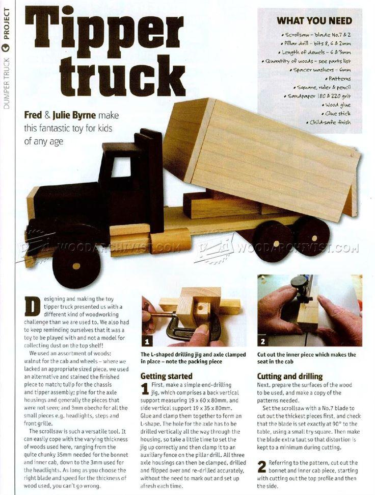17 migliori idee su camion giocattolo su pinterest for Piccoli piani eco compatibili
