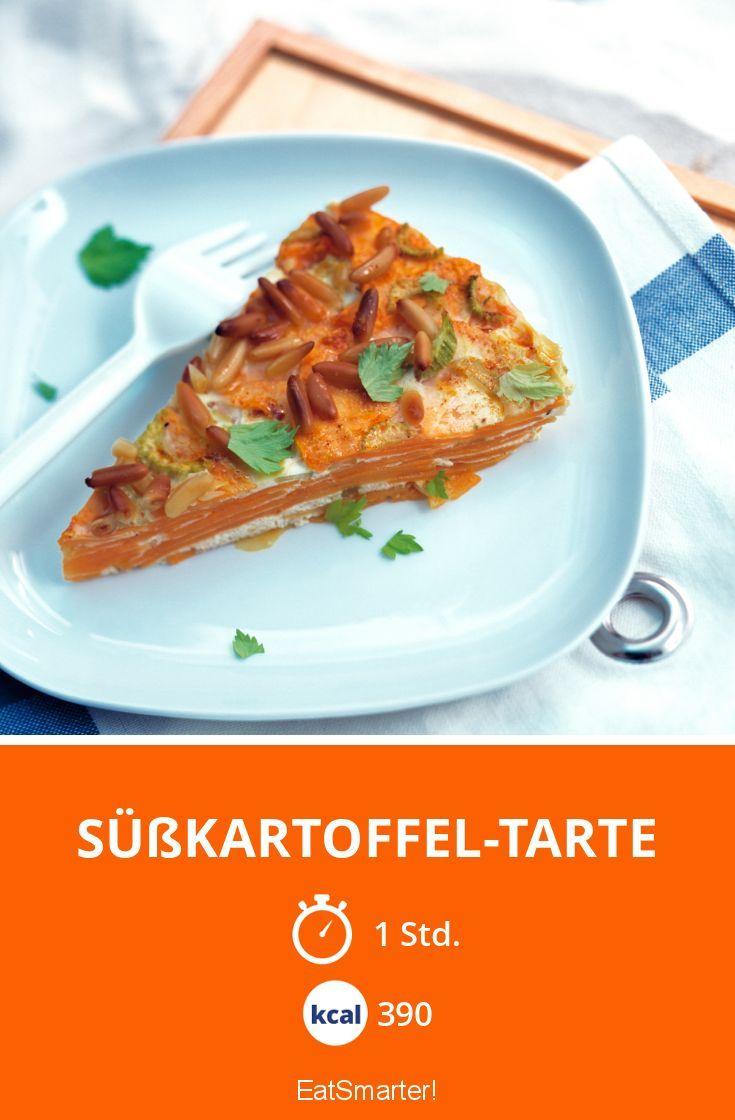 Süßkartoffel-Tarte - smarter - Kalorien: 390 Kcal - Zeit: 1 Std. | eatsmarter.de