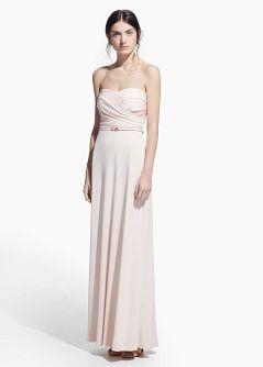 ONLINE EXCLUSIVE - Φόρεμα ντραπέ μακρύ
