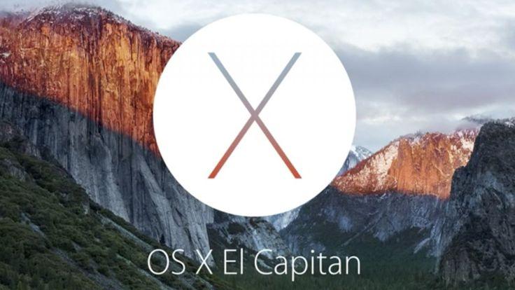 Mac OS X 10.11 revealed with OS X El Capitan