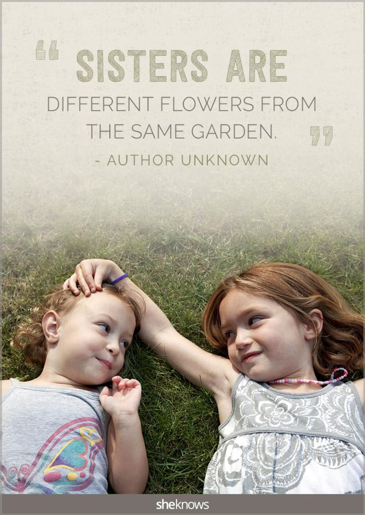 Love this! 20 lovely quotes about sisters Sister love