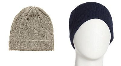 Cashmere winter caps