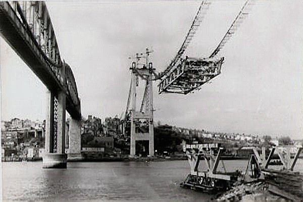 Building the Tamar Bridge