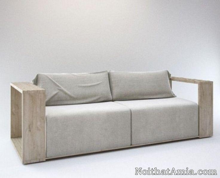 Đóng Mẫu Sofa Gỗ Handmade Theo Yêu Cầu Riêng Tại Amia
