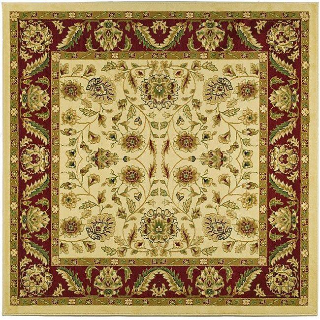 Safavieh Lyndhurst Traditional Tabriz / Red Rug