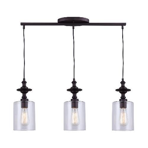 66 best luminaire images on pinterest light fixtures for Suspension triple luminaire