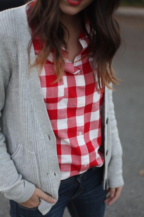 Best 25  Red gingham shirt ideas on Pinterest | Branded shirts ...