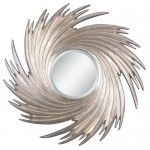 $213.40 Uttermost - Cyclone Mirror in Silver Champagne - 11229 B