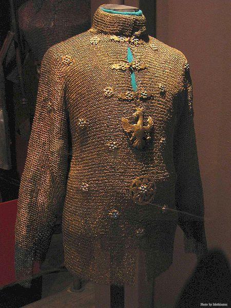 A chainmail János király II Kázmér Vasa található, a lengyel hadsereg Múzeum Varsóban.