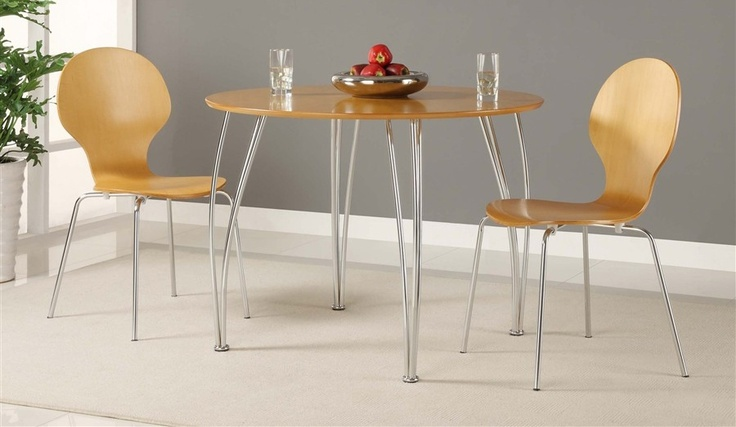 Bentwood 3 Pc Round Bistro Set