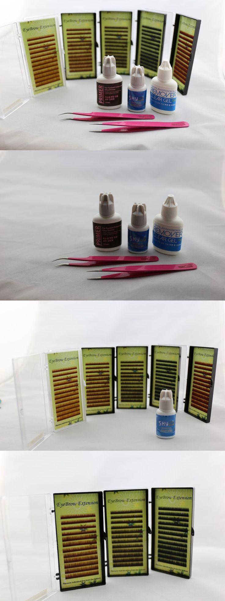 False Eyelashes and Adhesives: Eyebrow Extension Kit -> BUY IT NOW ONLY: $45.99 on eBay!