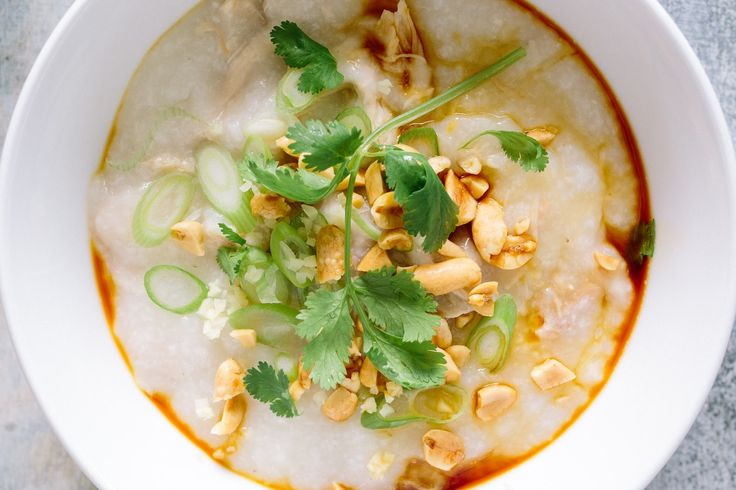 Recipe: Slow-Cooker Ginger Chicken Congee — Fall Favorites