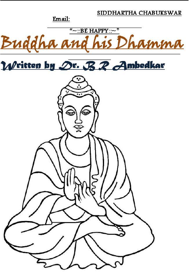 Buddha and His Dhamma by B R Ambedkar (Full)
