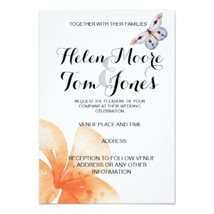 Summer wedding wedding party invites - invitations personalize custom special event invitation idea style party card cards