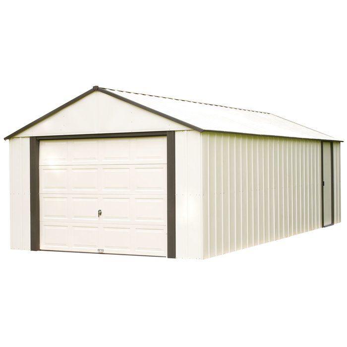 Murryhill 12 Ft W X 17 Ft D Metal Garage Shed Steel Storage Sheds Shed Storage Diy Storage Shed
