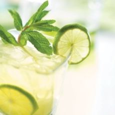 Mojito Iced Tea, from the ATCO Blue Flame Kitchen's Everyday Delicious 2011 cookbook.