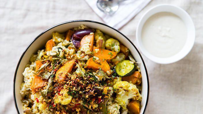 Superfood salad | Salad recipes | Vegetarian | SBS Food