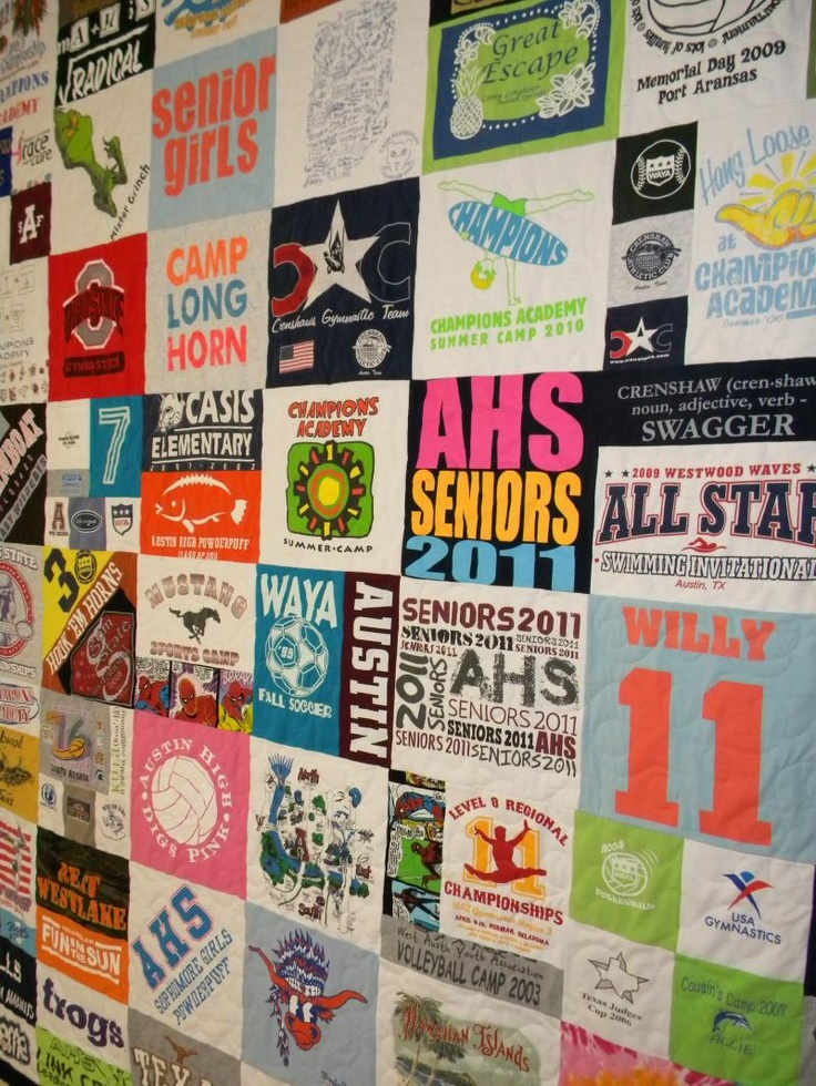 7 best T-shirt quilts images on Pinterest | Colleges, Do it ... : t shirt quilt company - Adamdwight.com