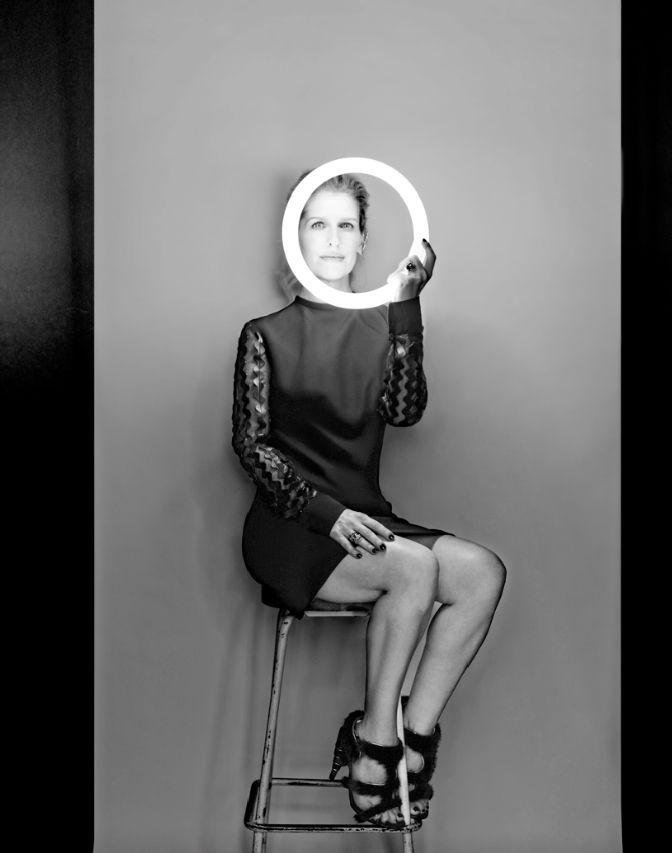 """""""Creo que si nos llevamos bien es porque tenemos la misma ética de trabajo, vamos tras la excelencia y confiamos mucho en la otra. La verdad, para ser familia yo creo que nuestra relación es muy buena, muy sana"""". -Eugenia Debayle #InStyleCover #InStyleOctubre #2015"""
