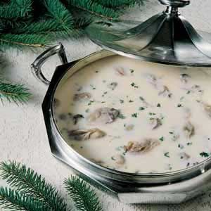 Yea- If I was in WA right now, dealing with the cold weather- this would be my dinner tonight! Oyster Stew